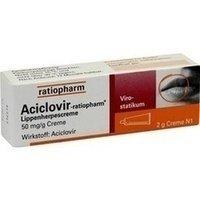 Aciclovir-ratiopharm® Lippenherpescreme 2g