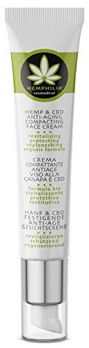 Hemphilia® Hanf & CBD Anti Aging Gesichtscreme...