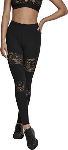 Urban Classics Damen Ladies Laces Inset Leggings...