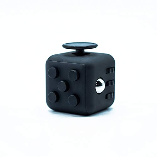 MerDen - Fidget Cube mit 6 Seiten – Gadget zum...