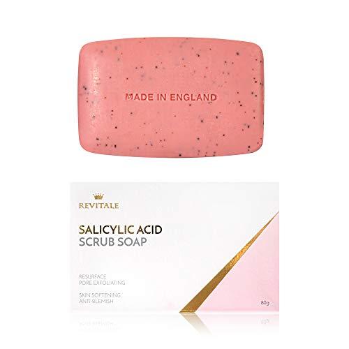 Salicylsäure Scrub Soap Pore Peeling, Akne...