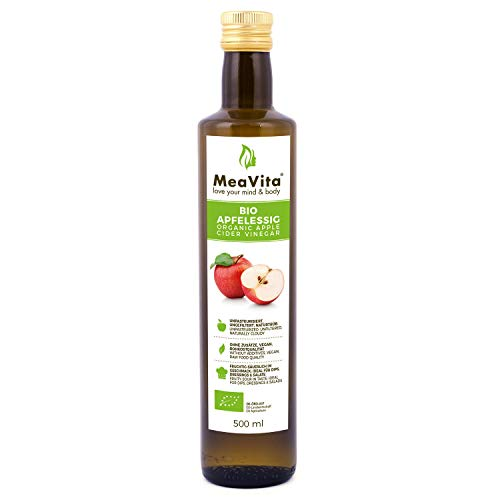 MeaVita Bio Apfelessig, naturtrüb & ungefiltert...