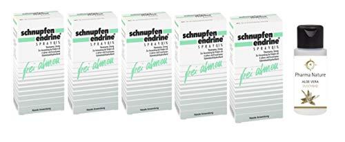 Schnupfen Endrine Nasenspray 0,1% | Sparset mit 5...