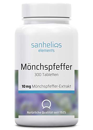 Sanhelios Mönchspfeffer - Hochdosiert - 300...