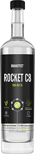 BRAINEFFECT Rocket Veganes MCT Öl Bio C8 - Octane...
