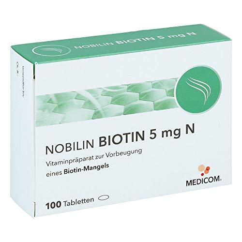 NOBILIN BIOTIN 5 mg Tabletten gegen Biotinmangel,...