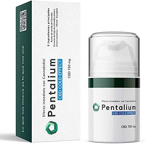 Pentalium CBD Cold Effect – Cannabidiol Creme...