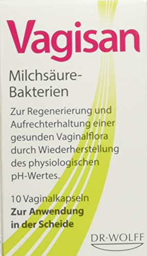 Vagisan Milchsäure Bakterien Vaginalkapseln 10...