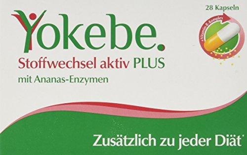 Yokebe Plus Stoffwechsel Aktiv Kapseln,...