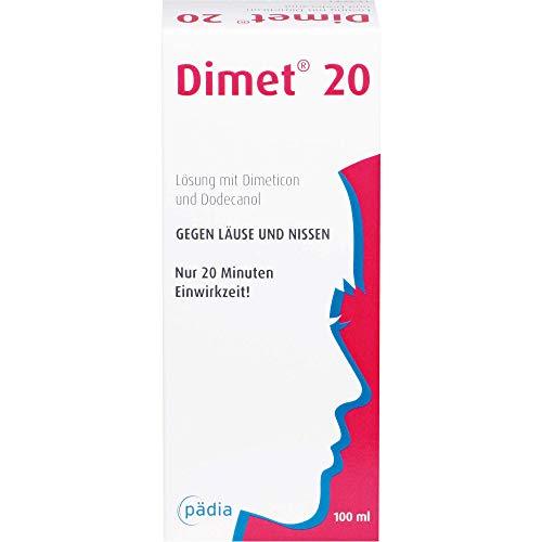Dimet 20 Lösung gegen Läuse und Nissen, 100 ml...