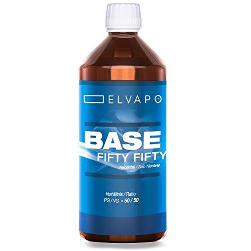 Elvapo BASE - Fifty Fifty | 1000ml / 1L | 50/50...