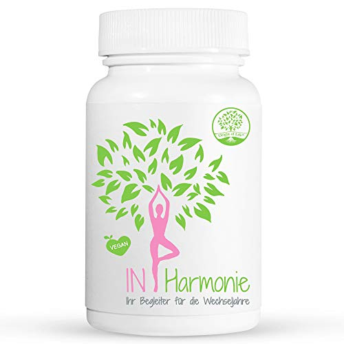 IN HARMONIE - Menopause Kapseln - 120 Kapseln für...