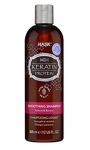 HASK Keratin Protein Smoothing Shampoo, 355 ml