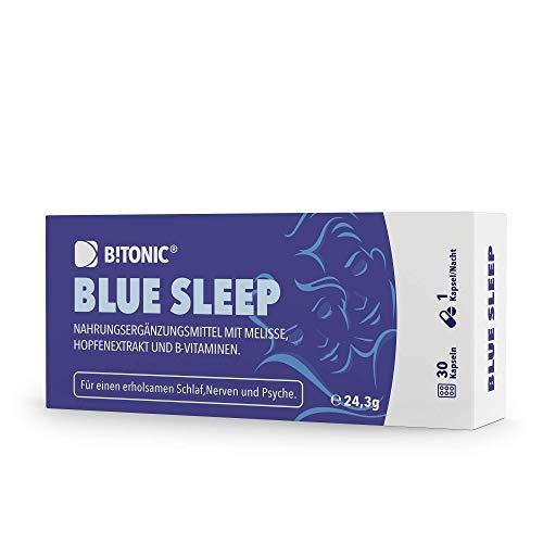 B!TONIC Blue Sleep - Pflanzliches Schlafmittel mit...