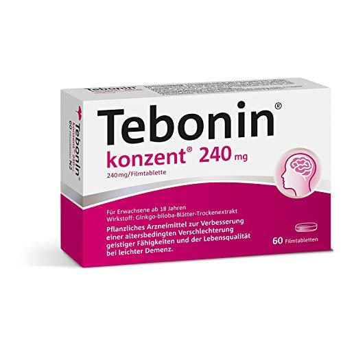 Tebonin® konzent® 240mg gegen Vergesslichkeit...