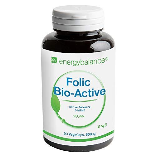 EnergyBalance Folic - Kapseln mit Folsäure -...