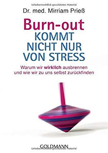 Burn-out kommt nicht nur von Stress: Warum wir...