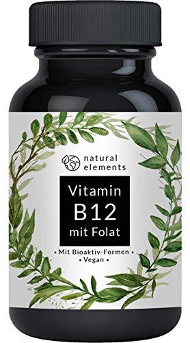 Vitamin B12-180 Tabletten - Hochwertig durch beide...