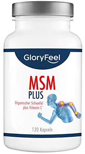 GloryFeel® MSM Kapseln Intensiv 1.600-1600mg...