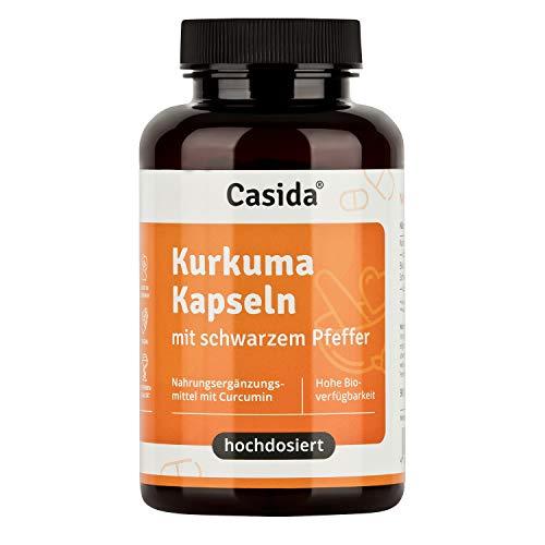 Casida® Kurkuma Kapseln + Pfeffer Curcumin...