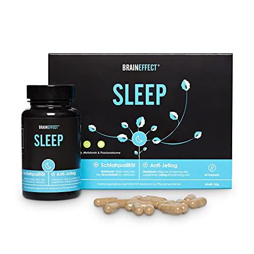 BRAINEFFECT SLEEP - veganes Schlafmittel mit...