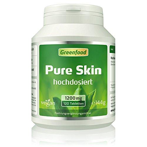 Pure Skin, 1200 mg, extra hochdosiert, 120...