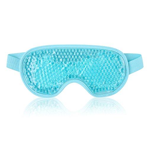Wiederverwendbare Augenmaske mit Gelperlen für...