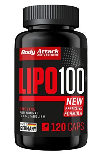 Body Attack Lipo 100 - extrem hochdosierte Formel...