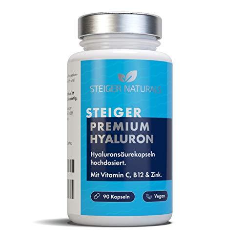 Hyaluronsäure Kapseln – Hochdosiert: 350 mg. 90...