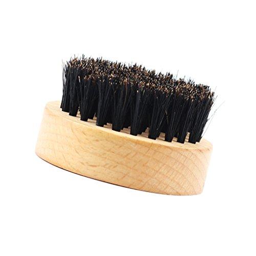 Männer Bartbürste Beard Brush mit Holzgriff,...