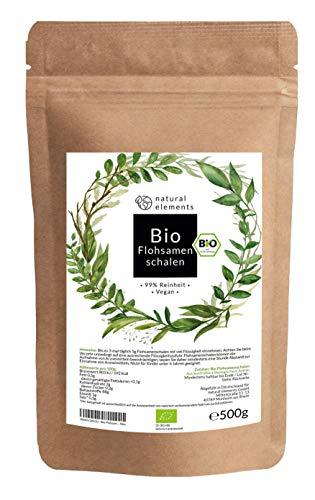 Bio Flohsamenschalen - Premium Qualität:...