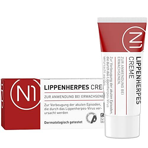 N1 Herpes Creme bei Lippenherpes mit Sofort-Effekt...