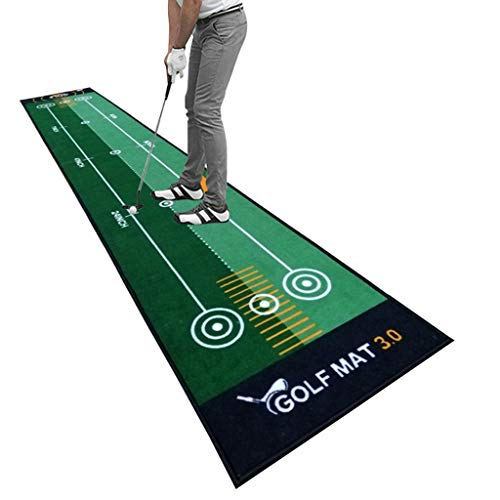 AHWZ Startseite Golf Putting Matten, Bewegliche...