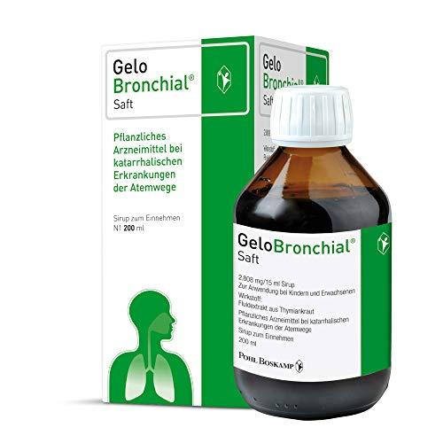 GeloBronchial Saft, 200ml - Starke Schleimlösung...