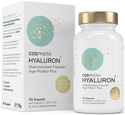 Hyaluronsäure Kapseln hochdosiert mit 500 mg pro...