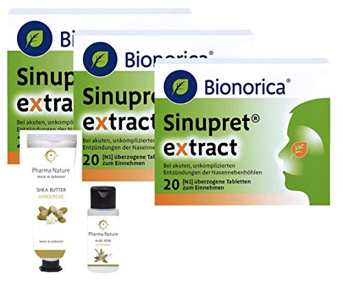 Sinupret Extract Sparset 3 x 20 Tabletten inkl....