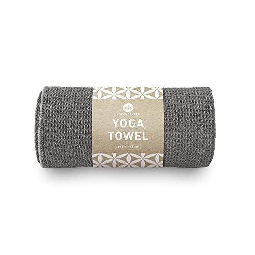 Lotuscrafts Yoga Handtuch Wet Grip - rutschfest &...