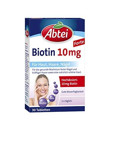 Abtei Biotin10mg - hochdosiertes Arzneimittel für...