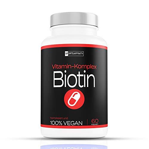Haut Haare Nägel Vitamine [Hochdosiert] » Biotin...
