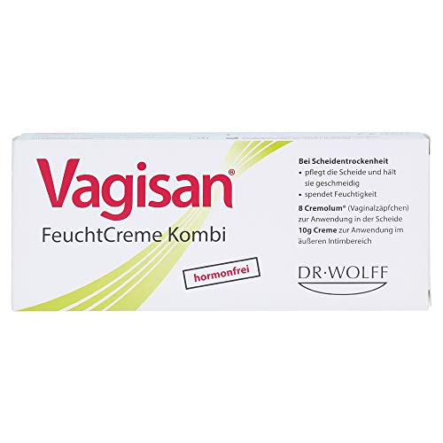 Vagisan Feuchtcreme Kombi bei Scheidentrockenheit...