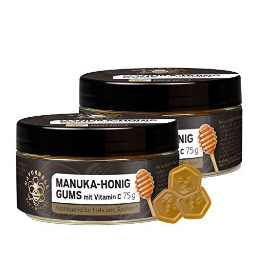 Naturbell Manuka-Honig Gums mit Vitamin C,...