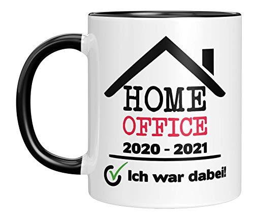 TassenTicker - Tasse mit Spruch 'Home Office...