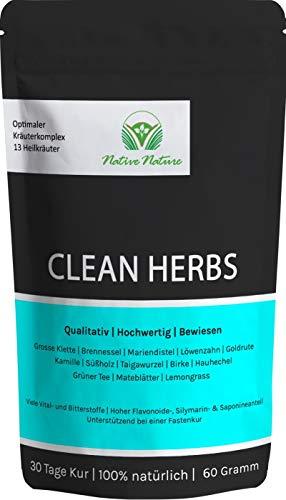 CLEAN HERBS - Einzigartige Mischung aus...