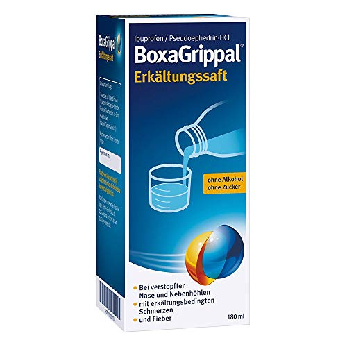 BoxaGrippal Erkältungssaft, 180 ml Lösung