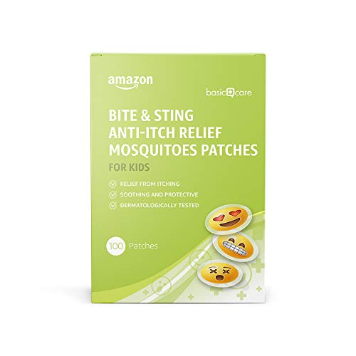 Amazon Basic Care - Stechmücken-Pflaster gegen...