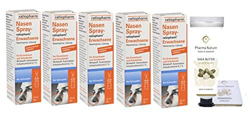 Nasenspray ratiopharm Sparset 5 x 15 ml und einer...