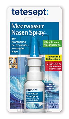 tetesept Meerwasser Nasen Spray – Nasenspray zur...
