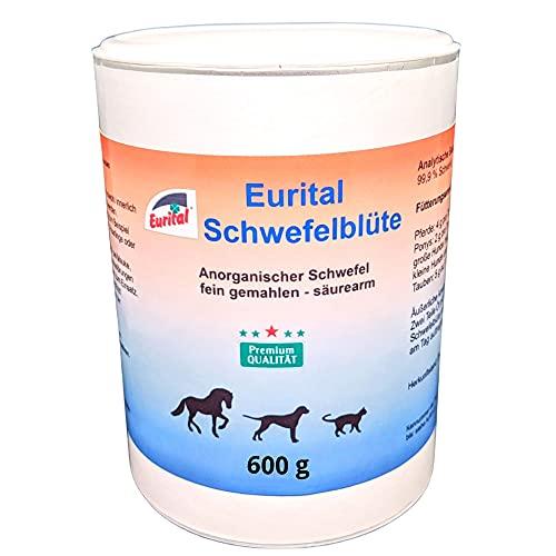Eurital Schwefelblüte 600g für Tiere