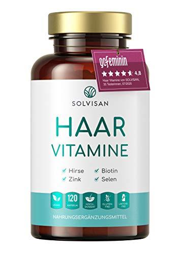 SOLVISAN HAAR VITAMINE hochdosiert mit Biotin,...