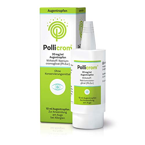 Pollicrom 20 mg/ml Augentropfen, 10 ml
